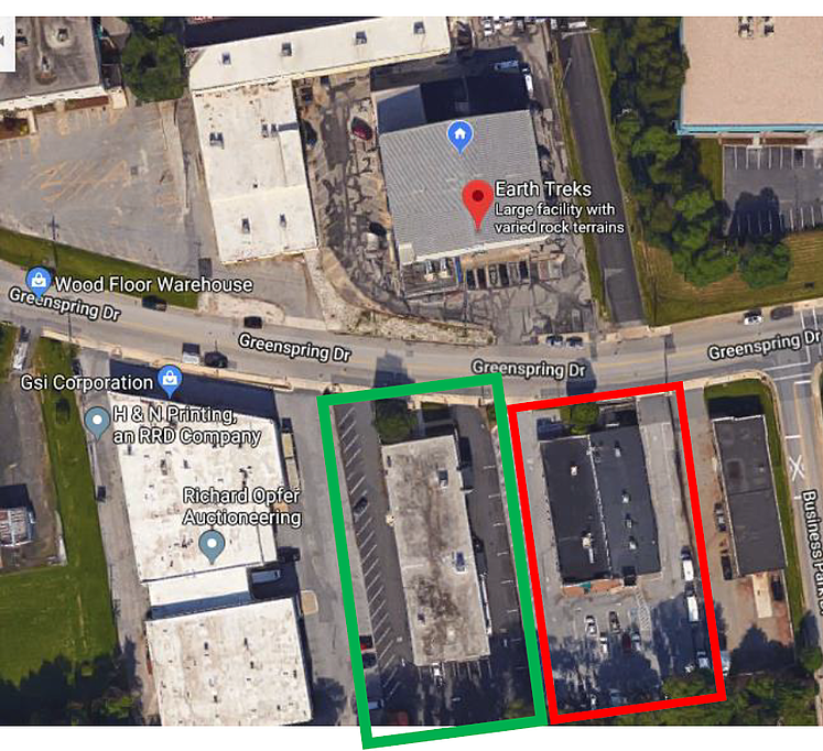 Parking for Earth Treks Timonium Youth Competition 9.29.18