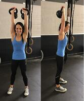 Overhead Kettlebell Carry_Climbing Strength