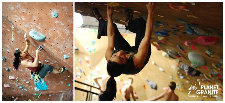how to climb 5next - Training in the gym