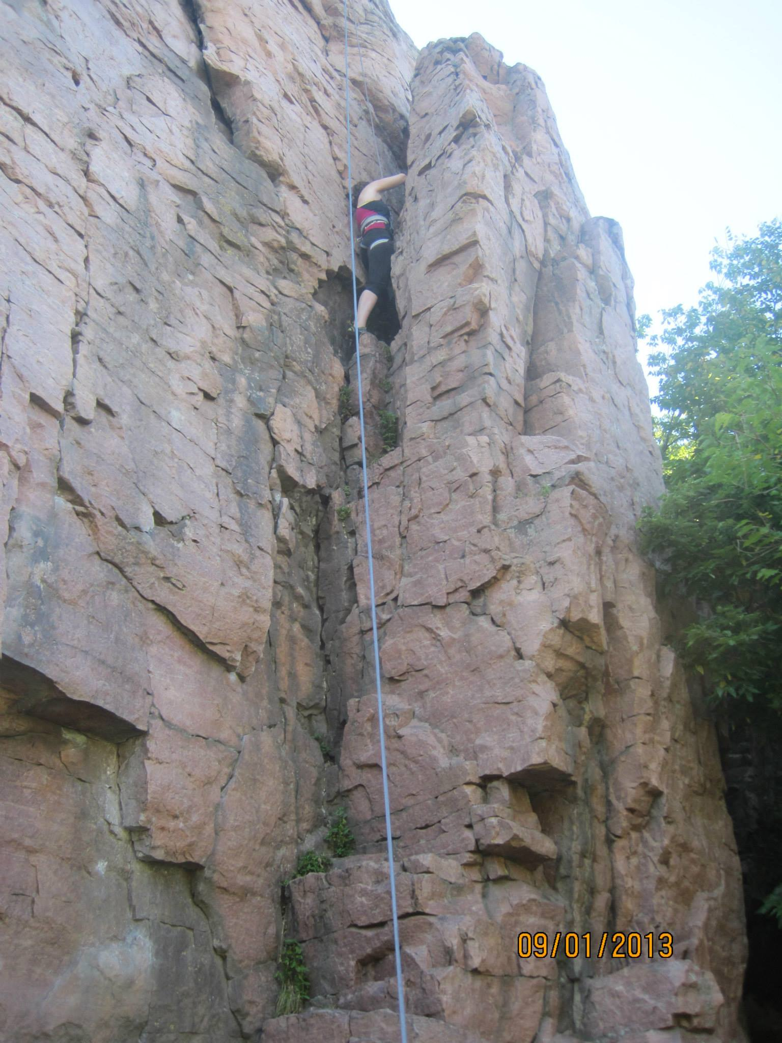 I got lost comparing myself to other climbers. Here's how I stopped.